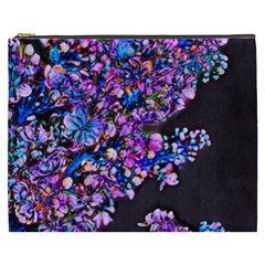 Abstract Lilacs Cosmetic Bag (xxxl)