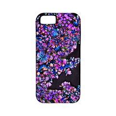 Abstract Lilacs Apple Iphone 5 Classic Hardshell Case (pc+silicone)