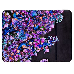 Abstract Lilacs Samsung Galaxy Tab 7  P1000 Flip Case