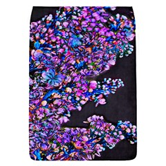 Abstract Lilacs Removable Flap Cover (small)