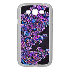 Abstract Lilacs Samsung Galaxy Grand Duos I9082 Case (white)