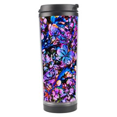 Abstract Lilacs Travel Tumbler