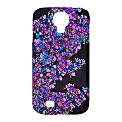 Abstract Lilacs Samsung Galaxy S4 Classic Hardshell Case (pc+silicone)