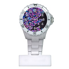 Abstract Lilacs Nurses Watch