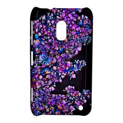 Abstract Lilacs Nokia Lumia 620 Hardshell Case