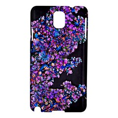 Abstract Lilacs Samsung Galaxy Note 3 N9005 Hardshell Case