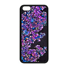 Abstract Lilacs Apple Iphone 5c Seamless Case (black)