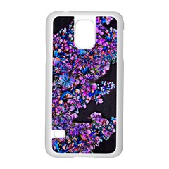 Abstract Lilacs Samsung Galaxy S5 Case (white)
