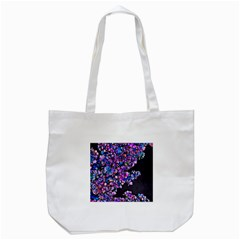 Abstract Lilacs Tote Bag (White)