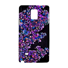 Abstract Lilacs Samsung Galaxy Note 4 Hardshell Case