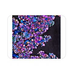 Abstract Lilacs Double Sided Flano Blanket (mini)