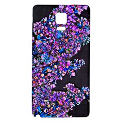Abstract Lilacs Samsung Note 4 Hardshell Back Case