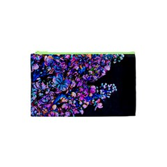 Abstract Lilacs Cosmetic Bag (xs)