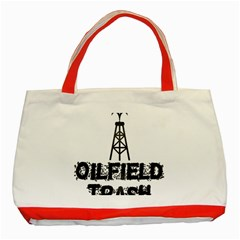 Oilfield Trash Classic Tote Bag (red)