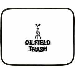 Oilfield Trash Mini Fleece Blanket (two Sided)