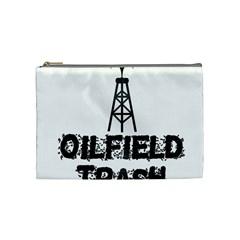 Oilfield Trash Cosmetic Bag (medium)