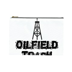 Oilfield Trash Cosmetic Bag (large)