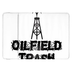 Oilfield Trash Samsung Galaxy Tab 8.9  P7300 Flip Case