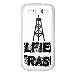 Oilfield Trash Samsung Galaxy S3 Back Case (white)