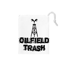 Oilfield Trash Drawstring Pouch (Small)