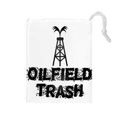 Oilfield Trash Drawstring Pouch (large)