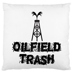 Oilfield Trash Large Flano Cushion Case (Two Sides)