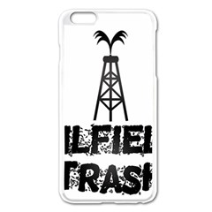 Oilfield Trash Apple Iphone 6 Plus Enamel White Case