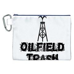 Oilfield Trash Canvas Cosmetic Bag (XXL)