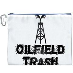 Oilfield Trash Canvas Cosmetic Bag (XXXL)