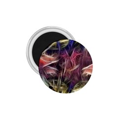 Abstract Of A Cold Sunset 1 75  Button Magnet