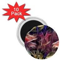 Abstract Of A Cold Sunset 1 75  Button Magnet (10 Pack)