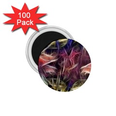 Abstract Of A Cold Sunset 1 75  Button Magnet (100 Pack)