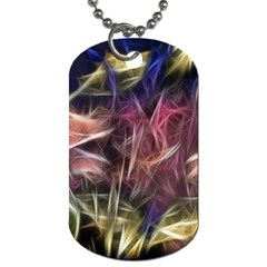 Abstract Of A Cold Sunset Dog Tag (two Sided)
