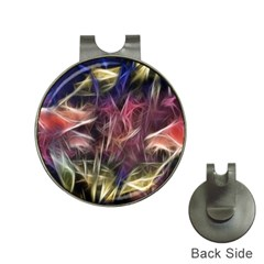 Abstract Of A Cold Sunset Hat Clip With Golf Ball Marker