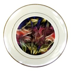 Abstract Of A Cold Sunset Porcelain Display Plate