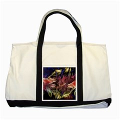 Abstract Of A Cold Sunset Two Toned Tote Bag