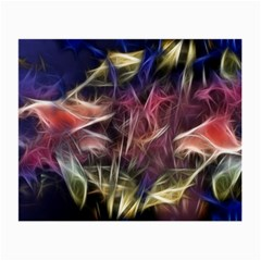 Abstract Of A Cold Sunset Glasses Cloth (small, Two Sided)