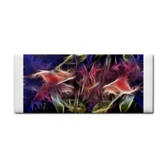 Abstract Of A Cold Sunset Hand Towel