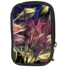 Abstract Of A Cold Sunset Compact Camera Leather Case