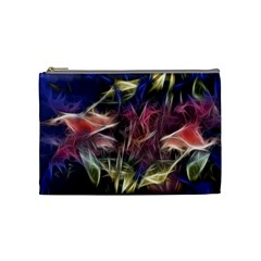 Abstract Of A Cold Sunset Cosmetic Bag (medium)