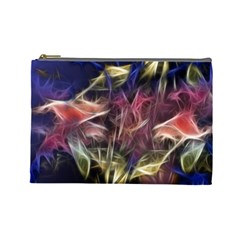 Abstract Of A Cold Sunset Cosmetic Bag (large)