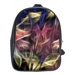 Abstract Of A Cold Sunset School Bag (large)