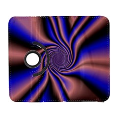Purple Blue Swirl Samsung Galaxy S  Iii Flip 360 Case