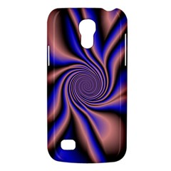 Purple Blue Swirl Samsung Galaxy S4 Mini (gt I9190) Hardshell Case