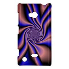 Purple Blue Swirl Nokia Lumia 720 Hardshell Case