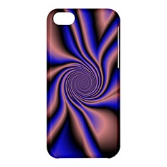 Purple Blue Swirl Apple Iphone 5c Hardshell Case