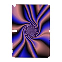 Purple blue swirl Samsung Galaxy Note 10.1 (P600) Hardshell Case
