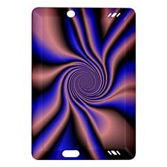 Purple Blue Swirl Kindle Fire Hd (2013) Hardshell Case