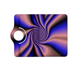 Purple Blue Swirl Kindle Fire Hd (2013) Flip 360 Case
