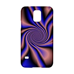 Purple blue swirl Samsung Galaxy S5 Hardshell Case